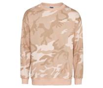 Sweater Crewneck beige / rosé