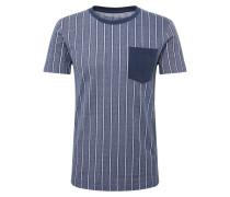 T-Shirt 'striped piqu'