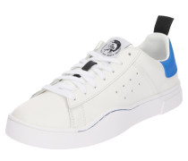 Sneaker 's-Clever Low' royalblau / weiß