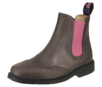 Chelsea Boots 'Hobart' taupe / pink