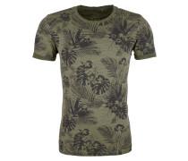 Shirt khaki / dunkelgrün