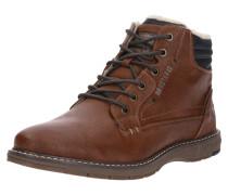 Schnür-Boots braun
