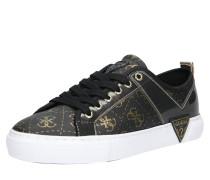 Sneaker 'goldyn' gold / schwarz