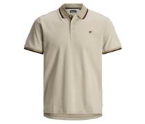 Poloshirt beige / braun