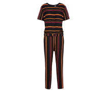 Jumpsuit 'Asumy' orange / schwarz