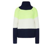 Pullover 'arwen' blau / gelb / weiß