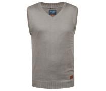 V-Ausschnitt-Pullover 'Larsson' grau