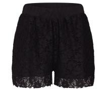 Shorts 'Lace' schwarz