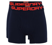 Boxer 'sport Boxer Double Pack' navy