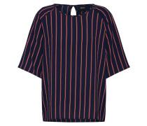 Shirt 'leonie' dunkelblau / rot