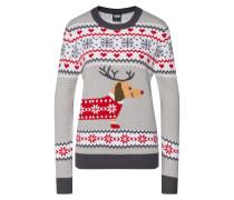 Pullover hellgrau / mischfarben