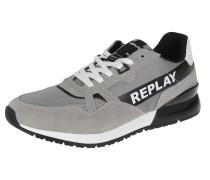 Sneaker 'Dawros' grau / schwarz / weiß