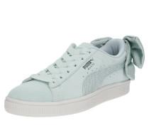 Sneaker 'Suede Bow' pastellgrün