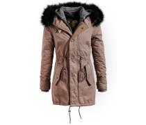 Mantel 'dorota With Inner Jacket' braun