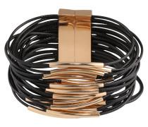 Armband 'Liv' gold / schwarz