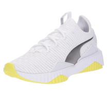 Sneaker 'Defy Tz' gelb / silber / weiß