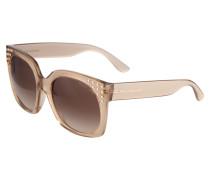Sonnenbrille 'destin' braun