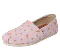 Canvas-Slipper 'alpargata' rosa
