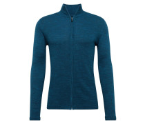 Strickjacke petrol