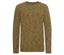 Pullover 'mst Marco' gelb / schwarz