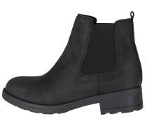 Chelsea Boots im Biker-Style schwarz