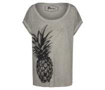 T-Shirt 'sara Pinapple' graumeliert