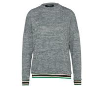 Sweatshirt 'viona' graumeliert