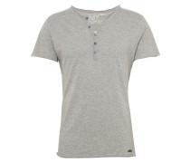 T-Shirt 'lemonade' graumeliert