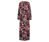 Kleid 'astha' khaki / pink
