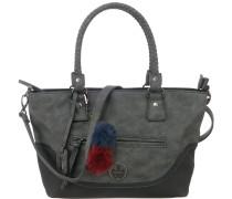 Handtasche grau / basaltgrau