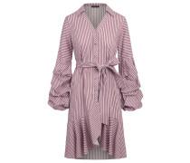 Kleid cyclam / weiß