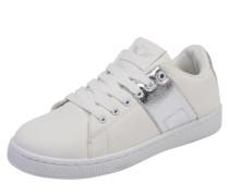Sneaker 'Tessa' silber / weiß