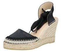 Sandalette 'denis4' beige / schwarz