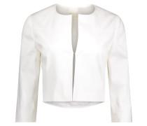 Blazer im kurzen klassischen Stil weiß