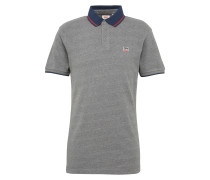Polo-Shirt 'breaker Logo Polo' graumeliert