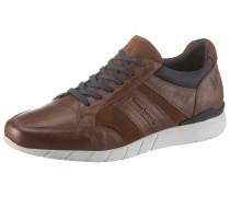 Sneaker kobaltblau / braun