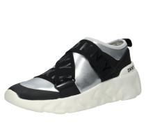 Sneaker 'clara' schwarz / silber / weiß