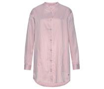 Nachthemd rosé / weiß