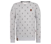 Sweatshirt grau / schwarz