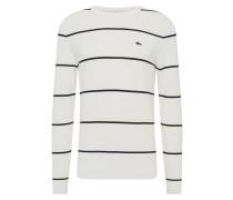 Pullover 'tricot' schwarz / weiß