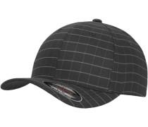 Cap 'Square Check Cap' grau / basaltgrau