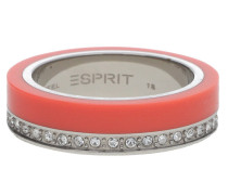 Fingerring Silber/Orange Marin 68 Esrg11565G