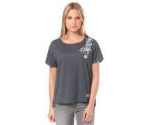 T-Shirt 'Cruz Life B' dunkelgrau