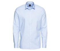 Hemd 'No. 6 Faux Uni' blau / weiß