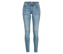 'FLORA'Jeans blue denim