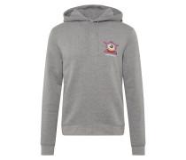 Sweatshirt 'Worth hood Eye ball' grau