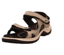 Sandalen beige / dunkelbraun