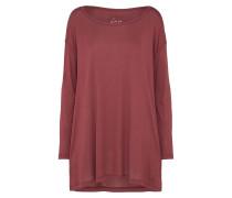 T-Shirt 'LW Essentials Winter' weinrot