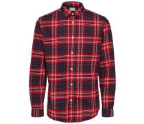 Hemd rot / schwarz / weiß