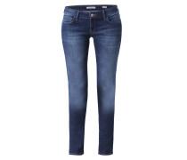 Skinny Jeans mit Kontrast-Stitching 'Lindy'